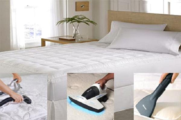 Bí quyết giúp ga giường luôn sạch sẽ và bền lâu, làm sạch cấp tốc vết bẩn.
